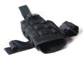 ライラクス GHOST GEAR MP7対応タクティカルホルスター BK [エアガン/エアーガン]