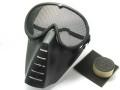 サンセイ SG-5Bサバイバルゲーム用 マスク&ゴーグル ステンレスメッシュ ブラック [エアガン/エアーガン]