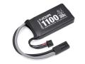 Gフォース リポ バッテリー 充電池 Noir LiPo 7.4V 1100mAh PEQインタイプ
