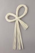 丸藤飾り・ふた輪流し 白 72360-010