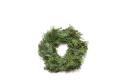森のリース・モミとヒノキ グリーン・25cmφ (こちらの商品は在庫数以上の予約が可能です)