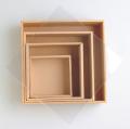 リースボックス ベージュ 35cm×35cm