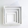 リースボックス ホワイト 35cm×35cm