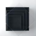 リースボックス ブラック 35cm×35cm
