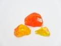 琉球ガラスカレット L オレンジ