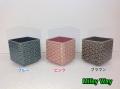 クレイ 和テースト 花器 正方形 大 Wa-Monyo