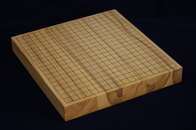 国産榧卓上碁盤 1.9寸