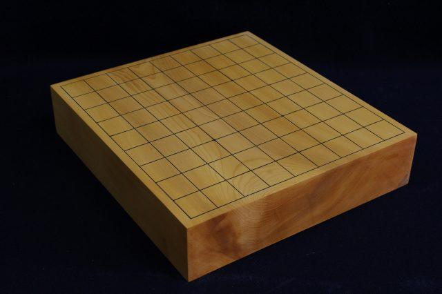 日向榧卓上将棋盤 2.5寸