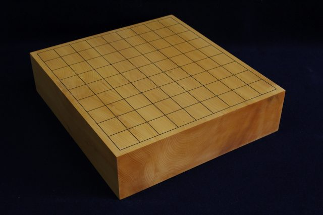 日向榧卓上将棋盤 2.95寸