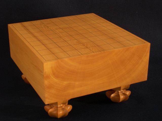 本榧将棋木裏盤 4.1寸