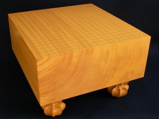 日向本榧碁盤【柾目】 5.8寸
