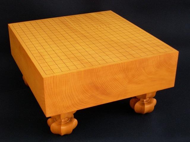 本榧碁盤【柾目】 4.4寸