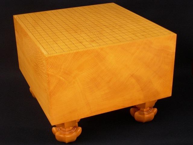 本榧碁盤【柾目】 6.8寸