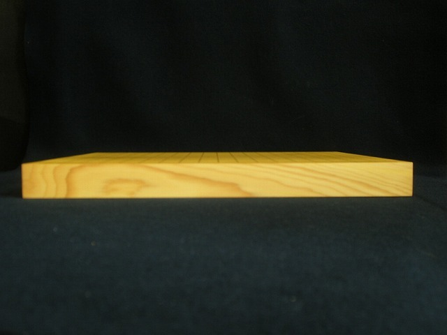 日向本榧卓上碁盤 1.35寸