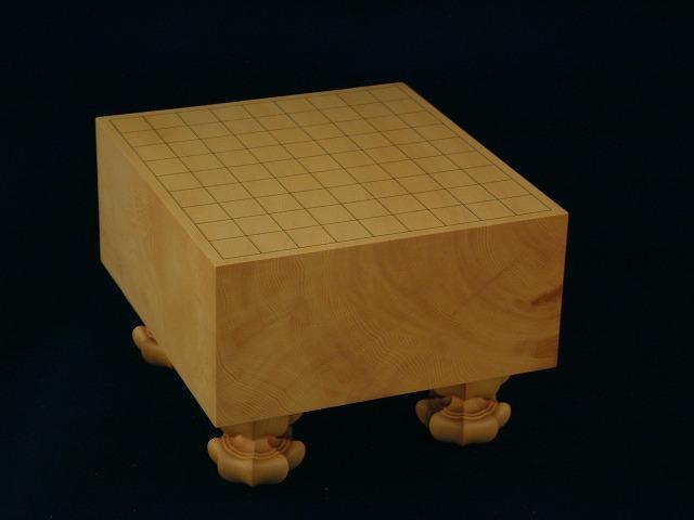 本榧将棋柾目盤 5.2寸