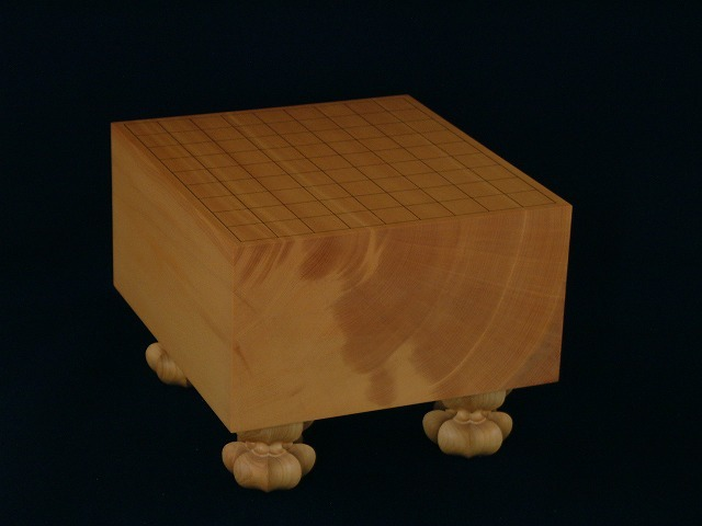 本榧将棋柾目盤 6.0寸