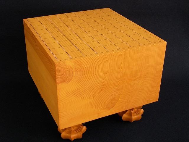 本榧将棋柾目盤 6.9寸