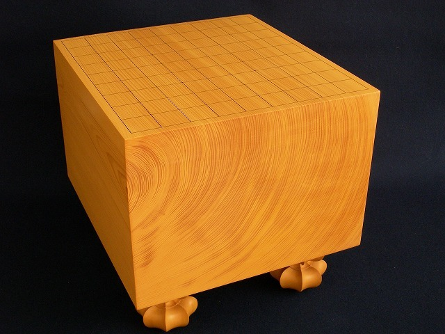 本榧将棋柾目盤 8.0寸