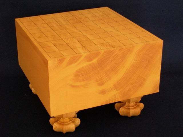 日向本榧将棋柾目盤 5.5寸