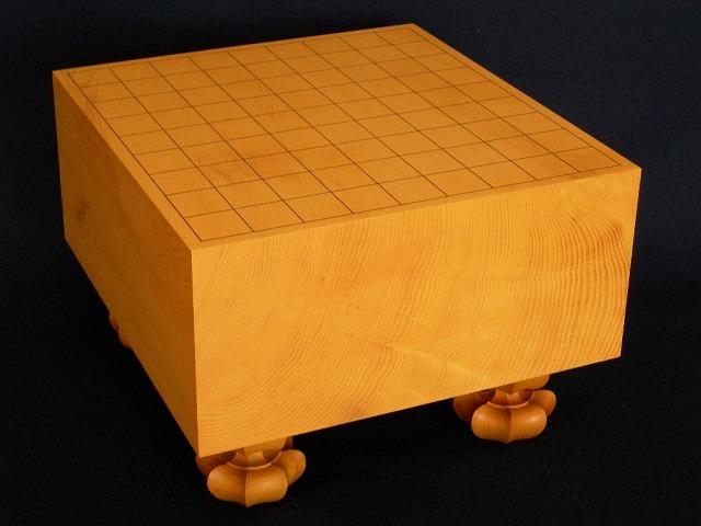 国産本榧将棋追柾盤 5.1寸