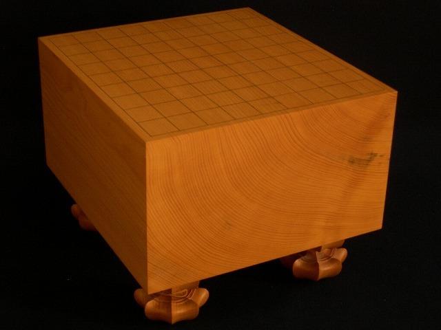 日向榧将棋柾目盤 6.55寸