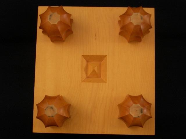 日向榧将棋柾目盤 7.5寸