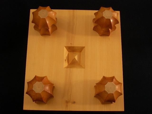 日向榧将棋木表盤 5.0寸