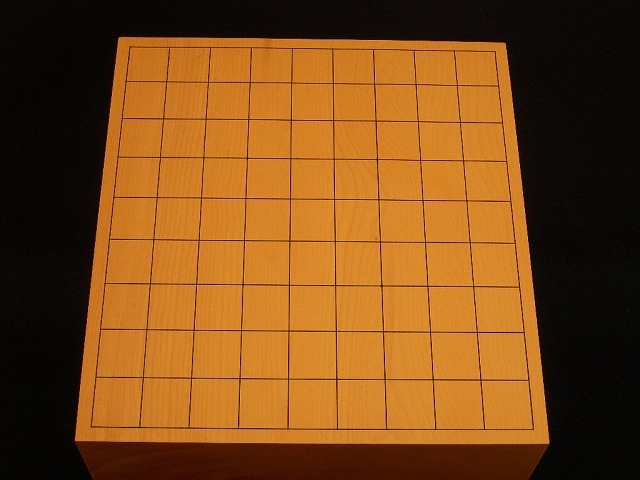 日向榧将棋木表盤 3.6寸