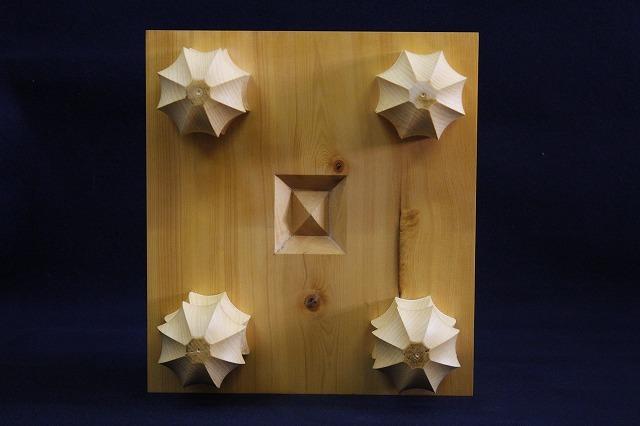 国産榧将棋木表盤 4.65寸