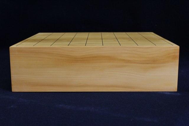 国産榧卓上将棋盤 3.35寸