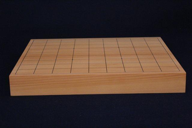 国産日向まじり榧卓上将棋盤 1.45寸