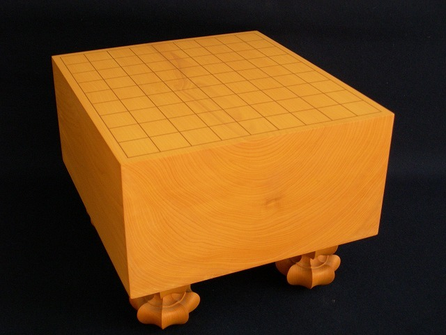 本榧将棋木裏盤 5.7寸