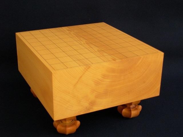 本榧将棋木裏盤 4.6寸