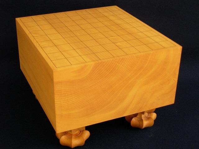 日向本榧将棋木裏盤 5.6寸