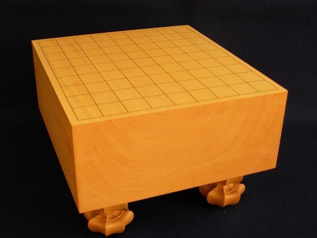 本榧将棋木裏盤 4.8寸