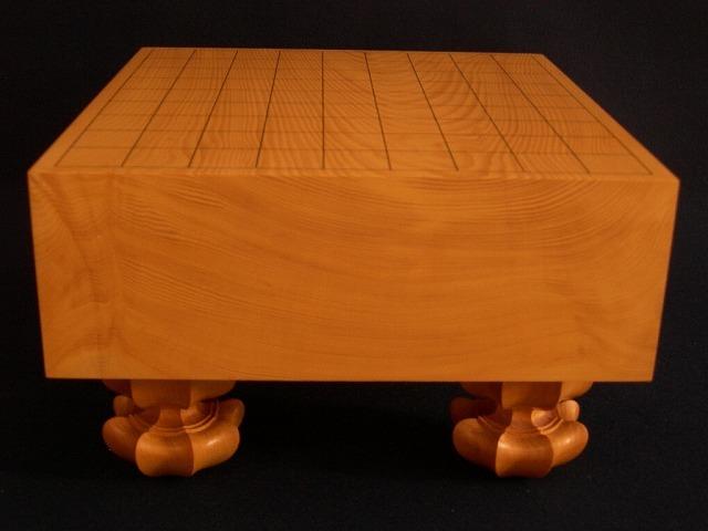 日向榧将棋木裏盤 3.8寸