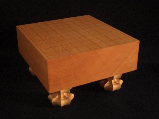 日向本榧木裏将棋盤 3.75寸強