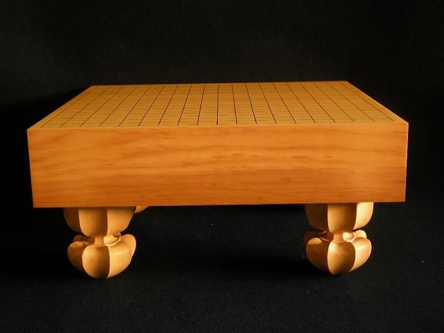 国産本榧碁盤【訳有り品】 3.2寸