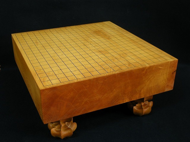 日向本榧碁盤【訳有り品】 3.5寸