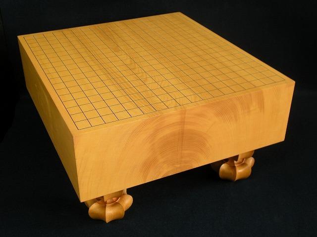 日向本榧碁盤【訳有り品】 4.9寸