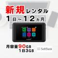 ポケットwifi601HWご案内画像,月容量90GB,レンタルwifi,リセット可能