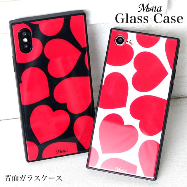 iPhone8 iPhone XiPhone8Plus iPhone7 iPhone7Plus Galaxy s9 galaxy s9 plus スマホケース カバー 送料無料 耐衝撃 背面ガラス TPUフレーム 強化ガラス gl-003