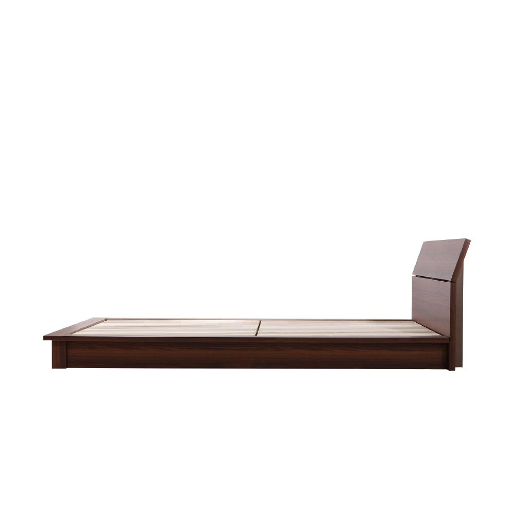 デザインローベッド 桐すのこ床板 安定感のあるステージタイプ|日本製フレーム|