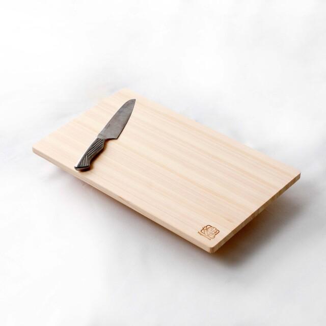 国産 ひのきまな板軽量モデル 料理のしやすい大き目サイズ(48c)