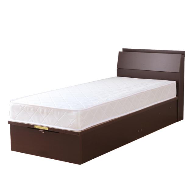 圧縮ポケットコイルマットレス付 | 日本製ガス圧収納ベッド