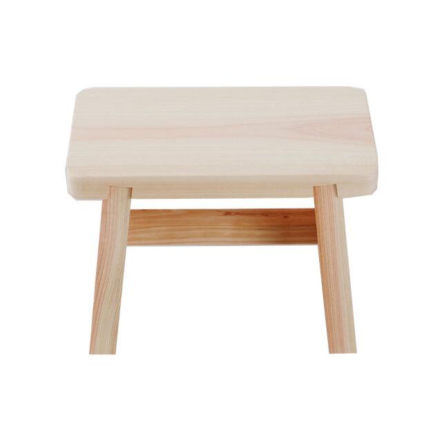 国産ひのき お風呂椅子 高知県桧使用 サイズ(中)