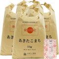 【7分つき精米】秋田県産 農家直送 あきたこまち 子どもに食べさせたいお米 20kg(5kg×4袋) 令和2年産 古代米付き