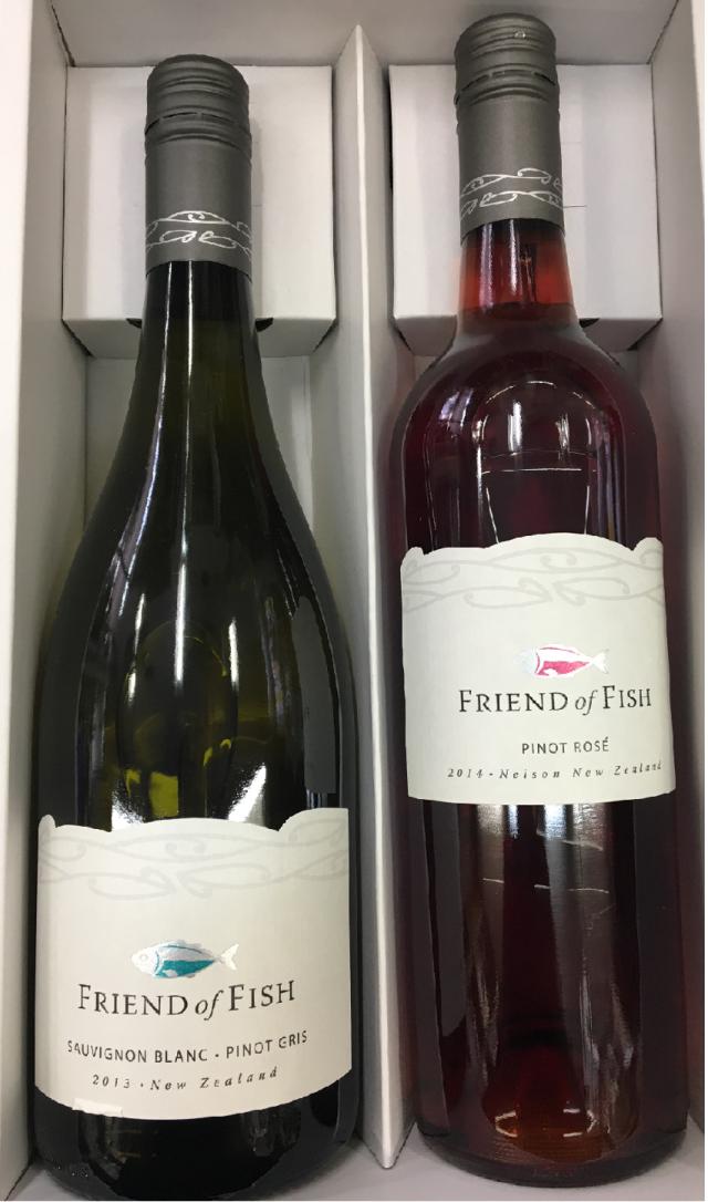 【送料無料】魚に合うワイン Friend of Fish 2本セット