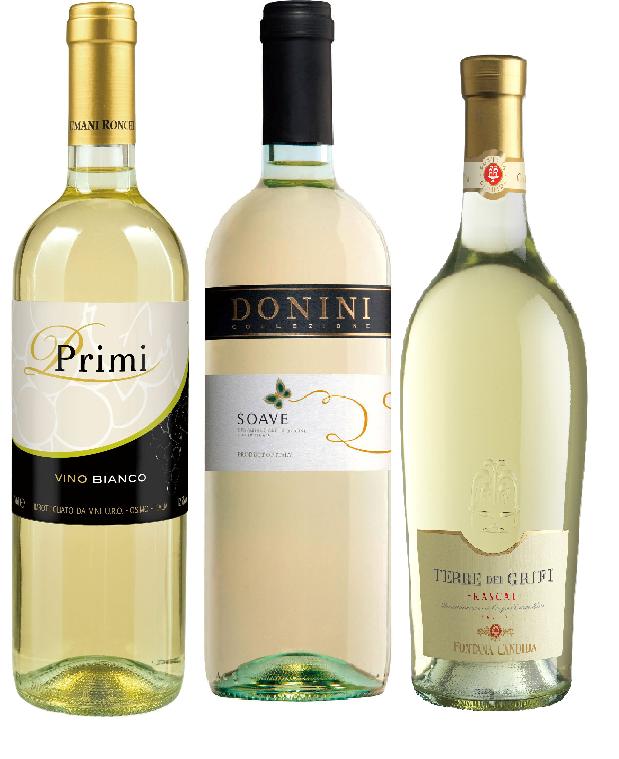 暑い夏に!!イタリアワイン 3本セット【白3】
