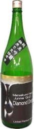【秋田】 純米大吟醸原酒 一度火入れ まんさくの花 ダイヤモンドドロップ 「吟のしずく」 720ml